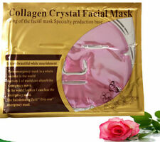 4 PINK Gold Bio Facial MASK Crystal, colageno mascarilla colageina, anti-aging