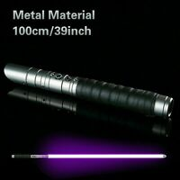 Star Wars Lightsaber Sword *6 sounds* Fx RGB Colors METAL Hilt Jedi Cosplay!