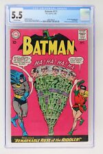 Batman #171 - DC 1965 CGC 5.5 1st Silver Age Appearance of the Riddler!