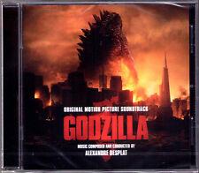 GODZILLA (2014) Alexandre Desplat OST Soundtrack CD Gareth Dewards SONY Neu OVP