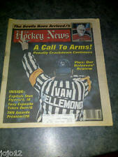 The Hockey News 1988 REFEREES' Review Sean Burke Grant Fuhr Red Storey Ron Low