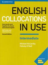Cambridge ENGLISH COLLOCATIONS IN USE INTERMEDIATE Second Edition 2017 @NEW@