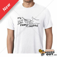 Step Brothers FANCY SAUCE Will Ferrell Line From DVD Good Fan Gift Graphic Tee