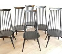 Ercol Goldsmith chair painted black ONE - more available - can post £20