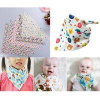 1Pc Infant baby triangle bibs baby bandana bibs feeding saliva towels WG
