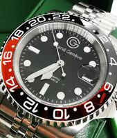Orologio Uomo Acciaio Grand Geneve Movimento Automatico Meccanico Citizen Miyota