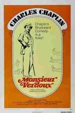 Monsieur Verdoux 02 comprimidos A3 cartel impresión