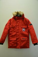 Canada Goose Mens Expedition Parka Coat X-small Red Used