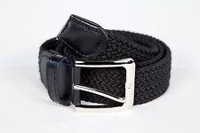 Mens Woven Stretch Belt 6 Colors Size S thru 3XL