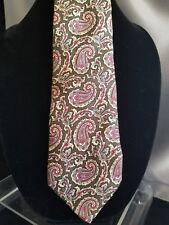 Yves Saint Laurent Neckwear 100% Silk Necktie Vintage Made in Usa