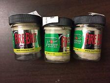3 Jars Pautzke Fire Glitter Trout Bait, Natural,  1.5-Ounce