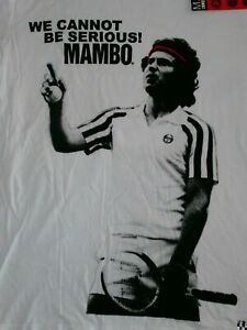 Mambo JOHN MCENROE TENNIS Vintage 2010 CHAMPIONS DOWNUNDER Loud Size M NEW
