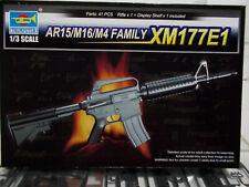 Trumpeter 1/3 scale AR15/M16/M4 Family XM177E1 NEW IN BOX 01902 gun model kit