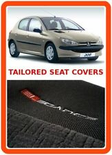 TAILORED SEAT COVERS for PEUGEOT 206  - grey1