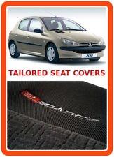 Fundas de los asientos a medida para Peugeot 206-Gris 1