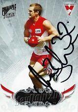 ✺Signed✺ 2009 SYDNEY SWANS AFL Card AMON BUCHANAN