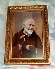 ST SAINT PADRE PIO 6.5x4.5 in by GERFFERT New Catholic Franciscan Friar Stigmata