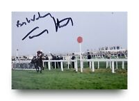 Tommy Stack Signed 6x4 Photo Red Rum 1977 Grand National Genuine Autograph + COA