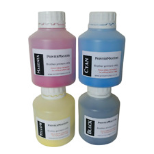 More details for genuine refill kit for brother laser printers toner refill all 4 colours colors