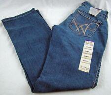 2969684669b Inseam  34. Womens Wrangler Q-BABY WRQ25BR Plain Pocket Mid Rise Boot Cut  Jeans