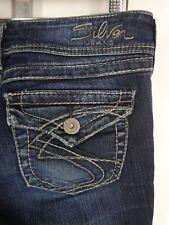 Silver Suki Surplus Bootcut Jeans Tag 28 x 32 Actual 30 x 32 Dark Denim