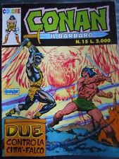 CONAN Il Barbaro n°15 1990 COLORE ed. Comic Art   [G331]
