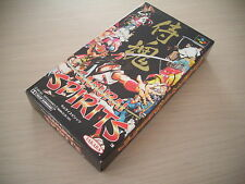 >> SAMURAI SPIRITS TAKARA SNK FIGHT SFC SUPER FAMICOM IMPORT BRAND NEW STOCK! <<