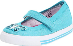 Keds Girls Illume Mary Jane Turquoise Shoes Toddler US Size 6.5