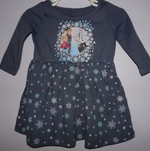 NWT GYMBOREE SIZE 6-12 6 12 MONTHS FROZEN OLAF DRESS FAIRYTALE FOREST DISNEY