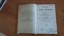 nuovo corso di lingua francese -giuseppe poerio - ad uso scuole italiana -1880