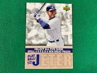 2006 Upper Deck Derek Jeter Spell and Win #PBDJ1 Derek Jeter New York Yankees