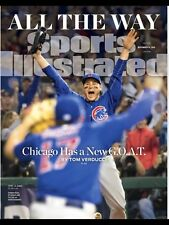 November 14, 2016 Chicago Cubs World Series Champs Sports Illustrated NO LABEL