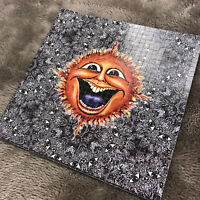 """Perforated Blotter Art - """"Sunface""""  Laughing Sun - Signed by Artist Mike DuBois"""