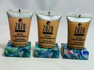 Zuzu Luxe Oil-Free Liquid Foundation - Choose Your Shade New