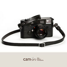 Adjustable Black Leather Cam-in Camera Strap with rings CAM3231 UK Stock