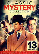 Classic Mystery Collection DVD 13 Features~Dick Tracy~Bulldog Drummond~2 Disc