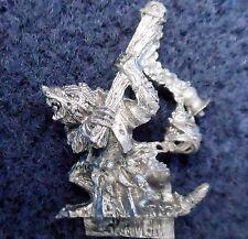 2004 SKAVEN plaga incensario portador 3 caos ratmen monje Citadel Warhammer Pestilens