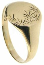 Graduation Signet Precious Metal Rings without Stones