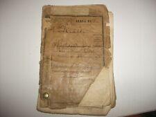 lot document livret militaire guerre 7 regiment de dragon classe 1878