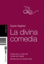 La divina comedia (Spanish Edition) by Dante Alighieri in Used - Very Good