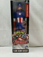 "Marvel Avengers Titan Hero Series Hasbro Captain America 12"" Action Figure 2015"