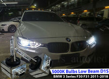 2x D1S  Xenon White 5000K Bulbs Replacement Low Beam BMW 3 F30 F31 2011-2016