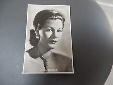 POSTCARD  VG   MARIA MONTEZ   NICE KITSCH ITEM   GIFT POTENTIAL ? FAIRBANKS CO