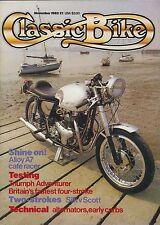 Classic Bike 83-11 Westlake BSA A7 cafe M20 M21, Silk v Scott,Triumph Adventurer