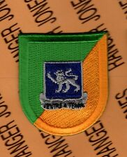 US Army 68th Armor Tank Airborne beret flash patch w/ dui