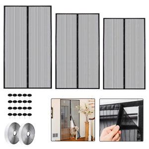 Insektenschutz Fenster Tür mit Magnetverschluss Fliegengitter Balkontür Vorhang