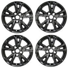 "17"" Black Wheel Skins / Hubcaps (4 Pieces Set) FOR 2016 2017 Chevy Equinox"