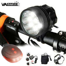 50000Lm 9x XM-L U2 Bicycle Bike light HeadLight Head lamp Rechargeable 6X18650