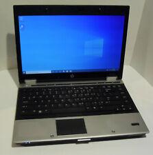 HP EliteBook 8440p 14in. (250GB Intel Core i5, 2.4GHz, 4GB Win 10) Notebook