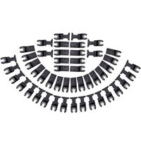 48pcs Universal Saw Blades Oscillating Carbon Steel for Oscillating Multi Tool